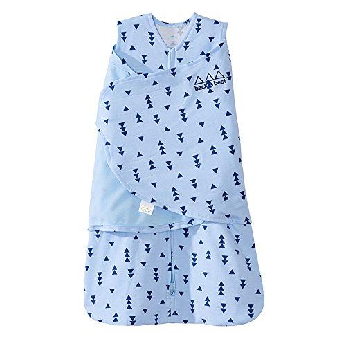 Halo Sleepsack Swaddle 100 Cotton Triangle Denim Blue